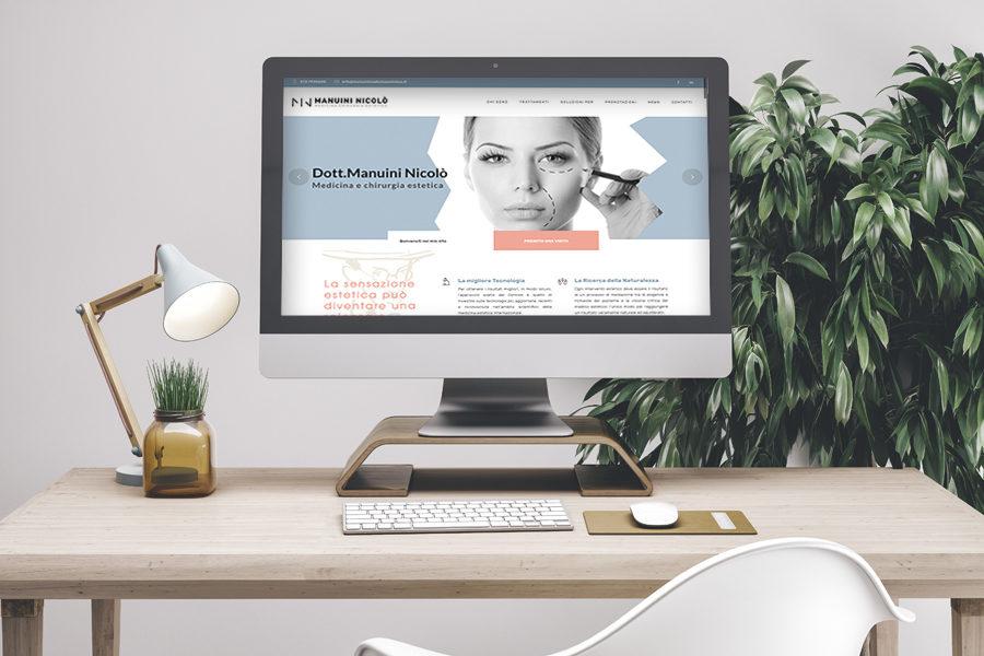 Online il nuovo sito del Dott. Nicolò Manuini